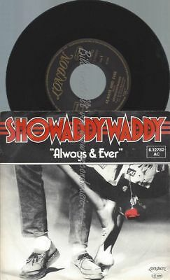 "7"" Showaddywaddy ‎– Always & Ever // PROMO COVER"