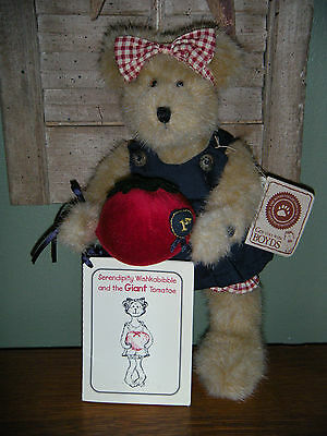 "Boyds Bears PLUSH 2001 ~10"" SERENDIPITY WISHKABIBBLE~ BEST DRESSED SERIES #90501"