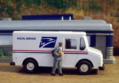 New  Diecast USPS Postal Truck Approximately 1/43 Scale