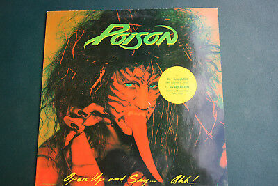 Poison, Open Up and Say...Ahh!, Capitol, sehr guter Zustand