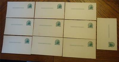 Lot of 10 ~ Vtg Uncirculated ~ Unused One (1) Cent Penny POSTCARDS - Jefferson