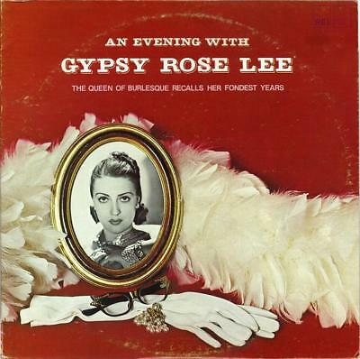 Gypsy Rose Lee An Evening With Gypsy Rose Lee Aei Records Vinyl LP