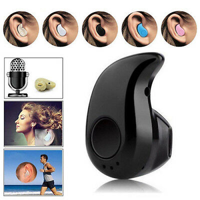 Mini Bluetooth 4.1 In Ear Musik Kopfhörer Wireless Ohrhörer Headset Für Handy DE