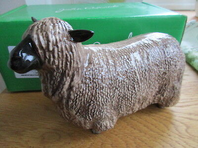 Original Beswick Wensleydale Sheep  Boxed And Perfect English Made
