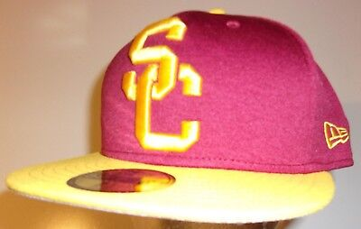 sale retailer 9792e 070bf ... where can i buy new era 59fifty usc trojans southern california cap hat  men fitted 7