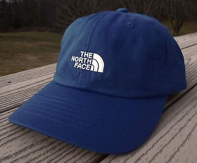 "NWT THE NORTH FACE ""The Norm"" Adjustable Adult Hat-OSFM Ret@$22 NAVY BLUE"