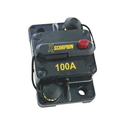 Xscorpion CB100A Manual Reset Circuit Breaker 100 Amp