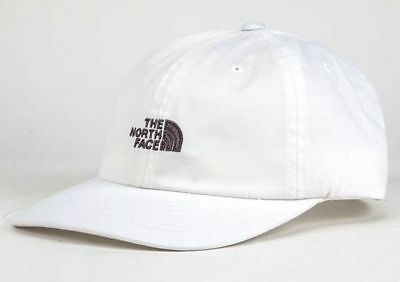 "NWT THE NORTH FACE ""The Norm"" Adjustable Adult Hat-OSFM Ret@$22 WHITE"