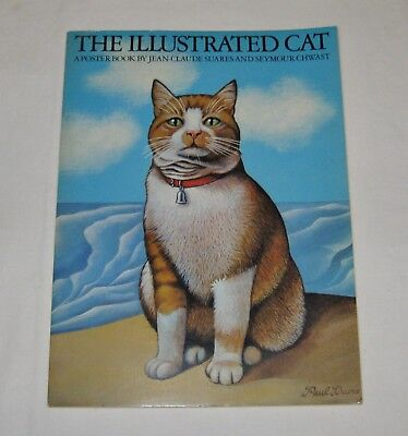 The Illustrated Cat-A Poster Book by Jean-Claude Suares & Seymour Chwast
