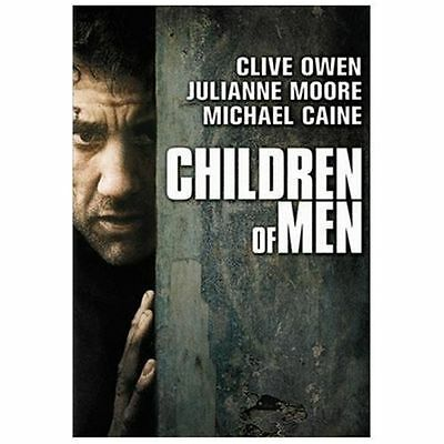 Children of Men DVD Full Screen  CLIVE Owen, Julianne Moore Michael Caine