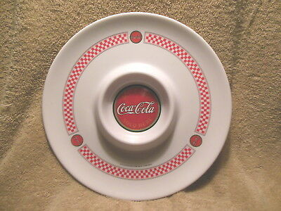 Gibson Coca Cola Melmac Chip 'n Dip Serving Tray