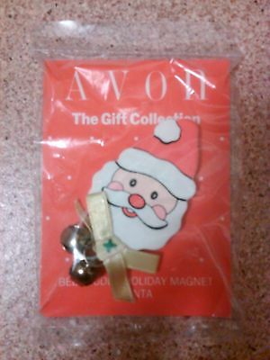 Avon Gift collection bell buddy holiday magnet Santa clause Christmas jingle