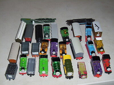 Thomas The Tank Engine Lot of 28 die cast trains