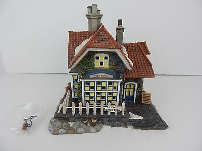 Dept 56 Dickens Village The Leather Bottle #58511 D56 DV Very Good Condition