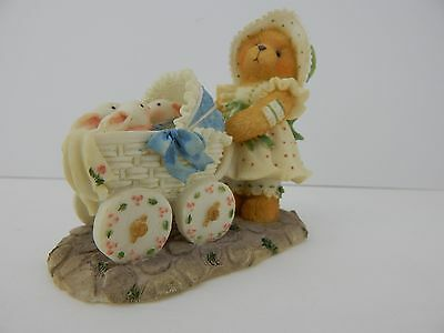 Enesco Cherished Teddies Jessica A Mother's Heart Is Full Of Love Figurine