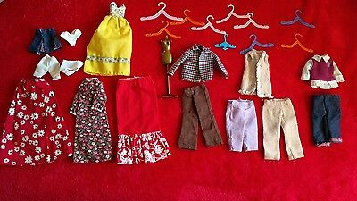 Vintage LOT OF Barbie Clothes & Accessories- Homemade & one tagged