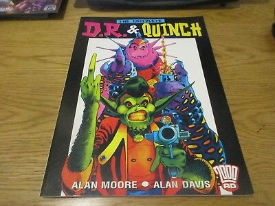 paperback graphic novel 2000ad  the complete dr and quinch alan moore