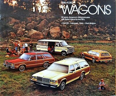1980 Ford Station Wagon Sales Brochure