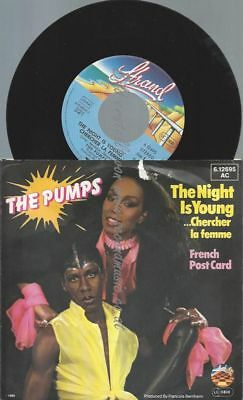 "7""  The Pumps ‎– The Night Is Young"