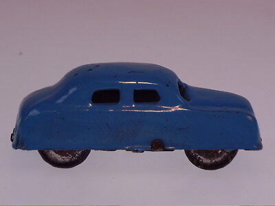 "GSPKW NEW PENNY TOYS  ""CAR"", BLAU, JAPAN ?, 6 cm, BESPIELT/USED !"
