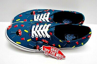 976d26a35c823b Vans Authentic Pool Vibes Blue Ashes True White VN0004MLJPG Men s Size 8.5