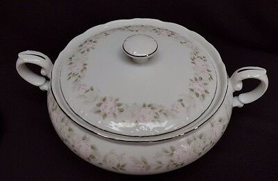 Sheffield Fine China Japan Classic Pattern 501 Covered Vegetable Bowl