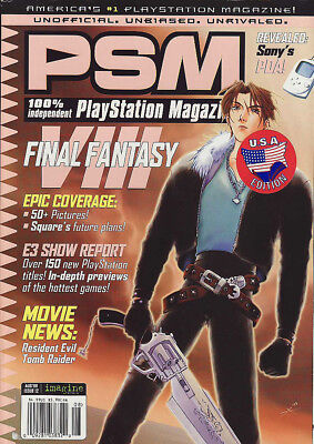 PLAYSTATION MAGAZINE USA VOL.2  Number 8 issue 12 - AUG 1998 - FINAL FANTASY 8