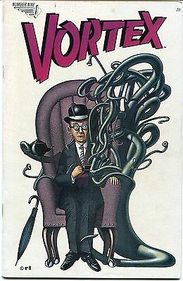Vortex #9 - Comic -  May 1984 - VF+