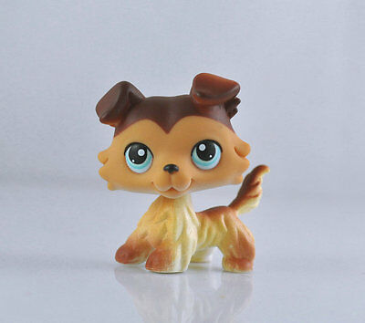 Collie Dog Littlest Pet Child Girl Figure Toy Loose Cute Xmas LPS10