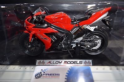 1:12 Racing Yamaha YZF-R1 Alloy Models Diecast RED Motorcycle Bike Model