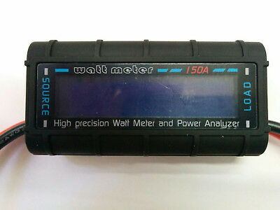 LCD Digital RC 130A 150A Battery Watt Meter Power Analyzer Tester D