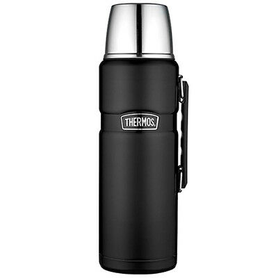 Thermos 2-liter Stainless King Vacuum Insulated Beverage Bottle - Matte Black