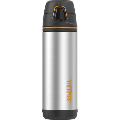 Thermos 16 oz. Element5 Insulated Stainless Steel Bottle - Silver/Black/Orange