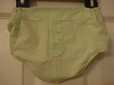 Vintage Baby Boy Diaper Cover Vinyl/Plastic/Rubber-Pants Mint Green