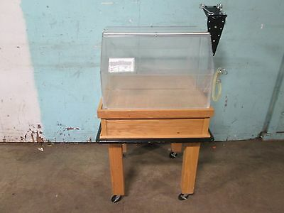 """""""cms"""" Hd Commercial Wooden/clear Acrylic Self-Serve Bakery Display Merchandiser"""