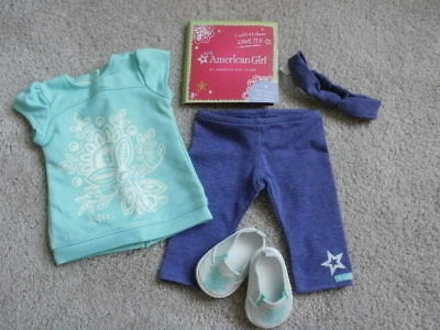 American Girl Doll Tropical Bloom Outfit Set