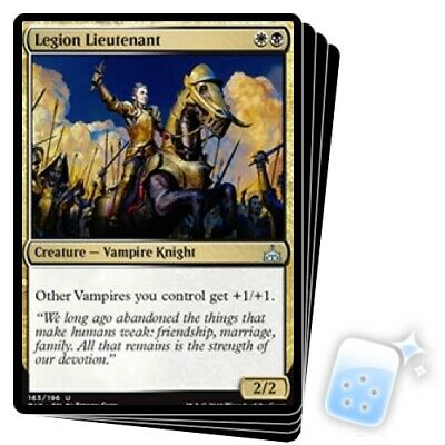 LEGION LIEUTENANT X4 Rivals Of Ixalan RIX Magic MTG MINT CARD