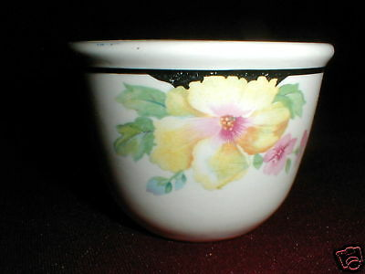 Harker Pottery MALLOW Hotoven Art Deco Custard Cup/s