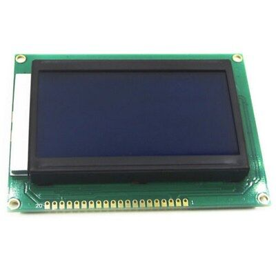 12864 LCD Serial Display Module 128x64 Dots Module Graphic Blue Screen Backlight