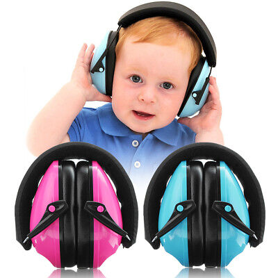 Kids Childen EAR DEFENDERS Autistic ASD Hypersensitive Infant NOISE MUFFS Edz