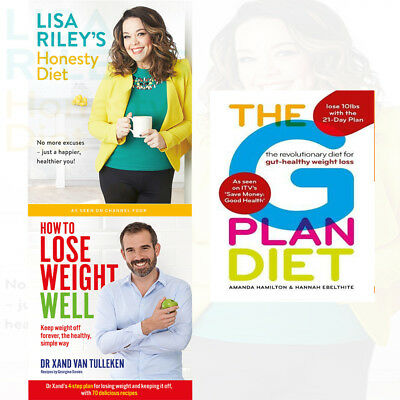 The revolutionary diet for gut-healthy weight loss 3 Books Collection Set NEW