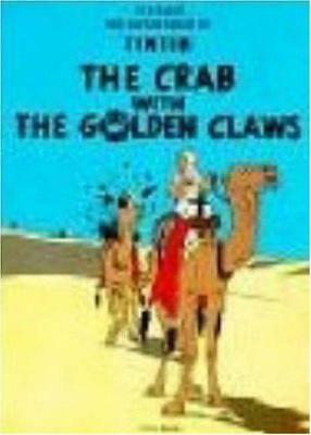 The Crab with the Golden Claws (The Adventures of Tintin) by Herge | Paperback B