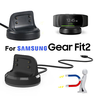 Magnetic Charger For Samsung Gear Fit 2 Smart Watch Dock Station Charging Cable