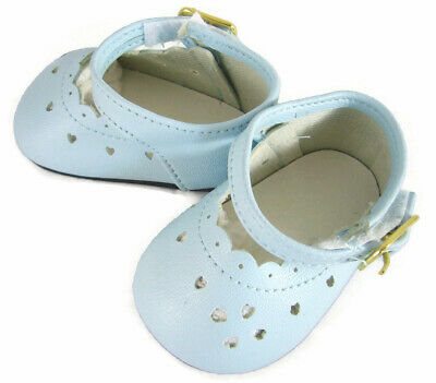 Light Blue Dress Shoes for Bitty Baby + Twins Doll Clothes Sew Beautiful