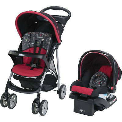 Graco LiteRider Click Connect Travel System, Car Seat and Stroller in Chalk Art!