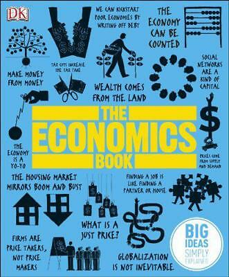 The Economics Book by DK, NEW Book, (Hardcover) FREE & Fast Delivery