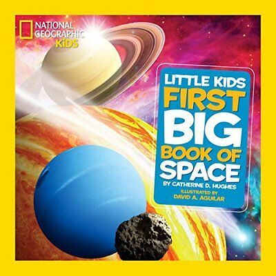 National Geographic Little Kids First Big Book of Space (First Big Books) by Dav