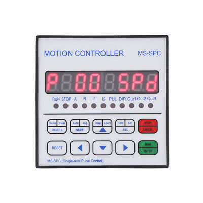 8 Digits Single Axis CNC Servo Stepper Motor Motion Programmable Controller hon