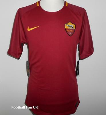 AS ROMA Nike Official Home Shirt 2017/18 M,L,XL,XXL NEW Jersey Maglia 17/18