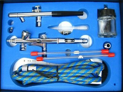 Airbrushpistole Airbrush Pistole Set BD-280K Airbrush-City